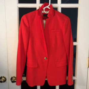 J. Crew Regent Blazer, Red/Orange